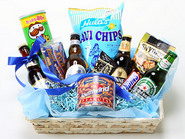 Beer and Gourmet Gift basket