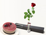 Single Rose & Choose Cake